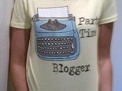 part time blogger