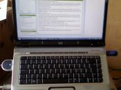 English: HP Pavilion dv6618eo Entertainment Notebook PC