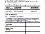 Schedule Acceptance Test Plan during Software Development Testing Phase