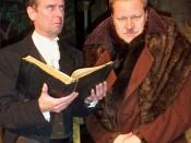 English: Narrator (James Hough) & Wolf (Robert McIndoe)