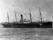 zdjęcie przedstawia statek SS Californian.