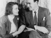 Portrait of Roald Dahl and Patricia Neal