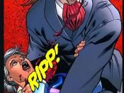 Slade, as a vampire, kills his mother.