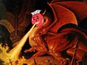English: the kool-aid Dragon