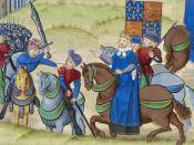 The end of the Peasant's Revolt 1381: their leader Wat Tyler is killed by William Walworth, Lord Mayor