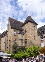 The Hôtel de Vassal, 15th century, Sarlat-la-Canéda, Dordogne, France.