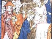 Refusing to recognize Irene's reign, Pope Leo III crowned Charlemagne as Holy Roman Emperor.