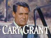 Cropped screenshot of Cary Grant from the trailer for the film To Catch a Thief