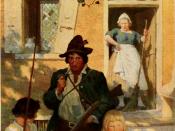 English: Illustration for Washingtion Irving's short story