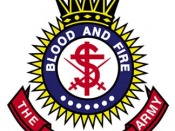 Official crest of The Salvation Army.