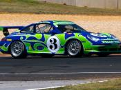 Ex-Kelly Moss Racing Porsche 996 GT3 at the 2007 Walter Mitty Challenge at Road Atlanta