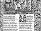 English: Troilus and Criseyde, Illustration from the Kelmscott Chaucer