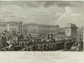 Français : Journée du 21 janvier 1793 la mort de Louis Capet sur la place de la Révolution : présentée à la Convention nationale le 30 germinal par Helman