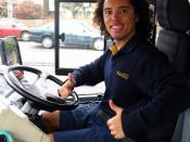 English: David Marshall, Bus Driver from Melbourne, Australia