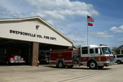 English: Swepsonville, North Carolina volunteer fire department.