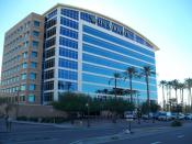 English: US Airways headquarters in Tempe, Arizona - Formerly the headquarters of America West Airlines Español: La sede del US Airways en Tempe, Arizona - Anteriormente la sede del America West Airlines