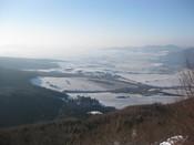 Slovenčina: Rajecka dolina z vrchu Kozol