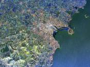 Radar Image of Dublin, Ireland