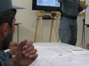 Afghans teach Afghans police skills