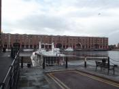 Warehouse C - Albert Dock, Liverpool - boat