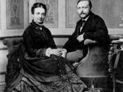 Richard Freiherr von Krafft-Ebing with his wife Marie Luise