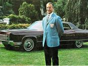 1970 Lincoln Continental Sedan with Gordie Howe