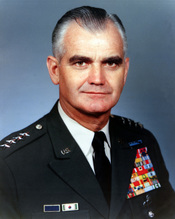 General William Westmoreland, Chief of Staff of the U.S. Army.
