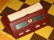 A modern digital chess clock