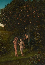 The Fall of Man (16th Century painting by Lucas Cranach the Elder)