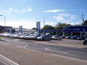English: Car Sales Business - Fareham Situated on the south side of West St. near the station.