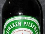 Nederlands: Bierflesje Heineken