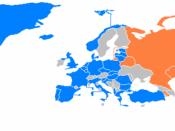 English: NATO / CSTO members map