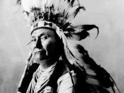 Chief Joseph (1840–1904), the chief of the Wal-lam-wat-kain (Wallowa) band of Nez Perce Indians