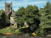 River Aire Bingley