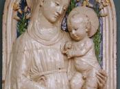 Luca della Robbia - Madonna met kind