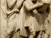 Português: Luca della Robbia's Cantoria. Museo dell'Opera del Duomo, Florence.