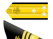 English: United States Public Health Service Vice Admiral insignia