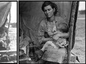 The other 5 photos taken by Dorothea Lange.