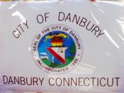 Flag of Danbury, Connecticut