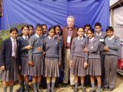 School Uniforms in Kathmandu, Nepal
