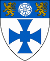 English: Arms of the Durham colleges, drawn from the original grants by Jonathan Gough and Tim Packer. Permission to use this expression of the arms granted by Tim Packer. Category:British coat of arms images Category:Durham University