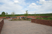 English: The Columbine Memorial in , USA.