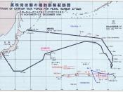 Carrier Striking Task Force two-way route. Legend: Kido Butai USS Enterprise (CV-6) USS Lexington (CV-2)