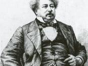 English: French writer Alexandre Dumas, pere.