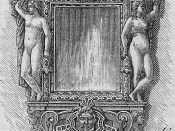 Elizabethan mirror.