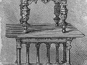 Flemish table.