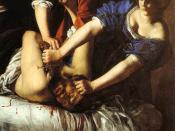 Judith Slaying Holofernes, Artemisia Gentileschi, c. 1611–12