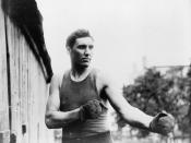 English: American boxer Jess Willard