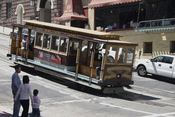 Cable Car in San Francisco - double-ended car (California line)