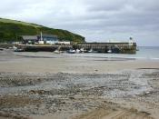 English: Port Erin beach